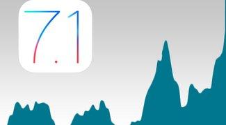 Der Release von iOS 7.1 war wie ein Erdbeben im Internet