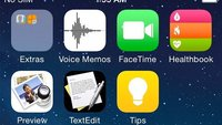 iOS 8: Screenshots aufgetaucht, zeigen Healthbook, Textedit und Vorschau [Update]