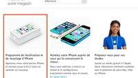 Apple Store: iPhone-Trade-in-Programm jetzt auch in Frankreich