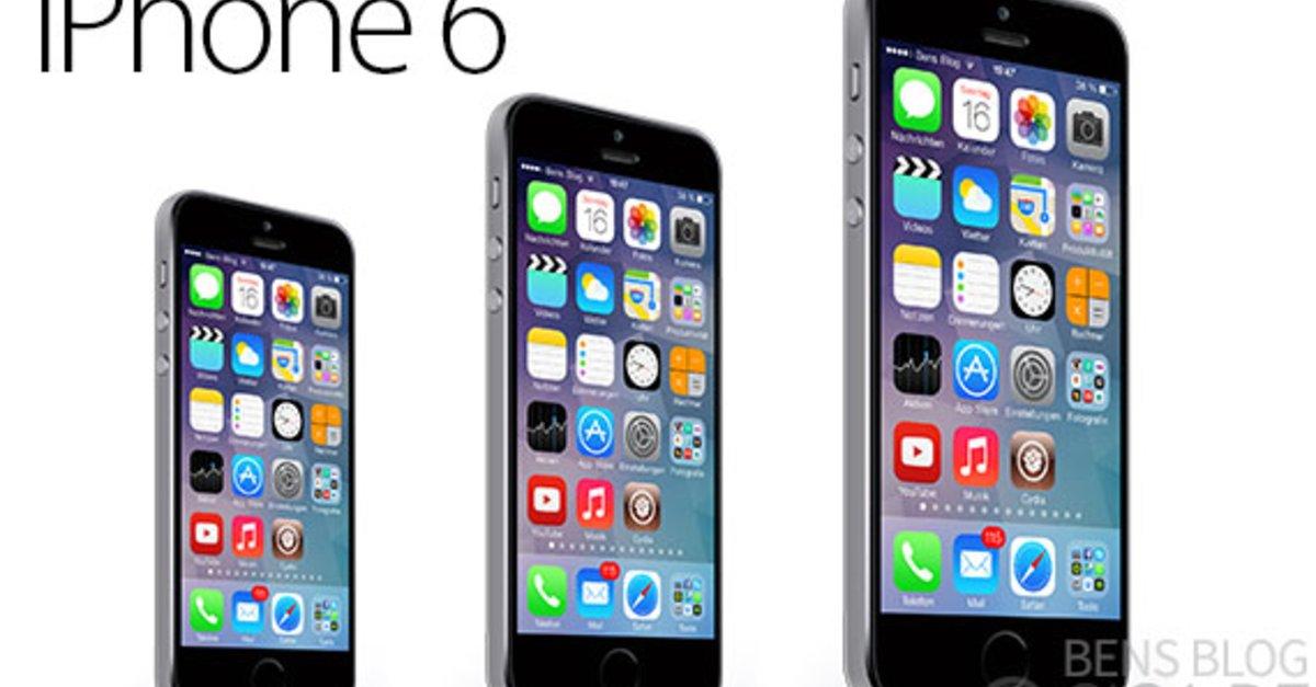 iPhone 6: Angeblich zwei Versionen in Planung, aber nur eine kommt im Herbst