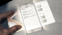 iPhone 6 mit Pico-Projektoren und Holomatrix im Video (Kaules Bettmümpfeli)