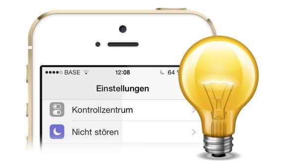 iOS 7.1: Weißpunkt reduzieren für ein wärmeres Display (Mini-Tipp)