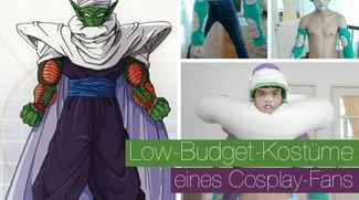 Low-Budget-Kostüme eines Cosplay-Fans