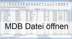 MDB Datei öffnen – auch ohne Access