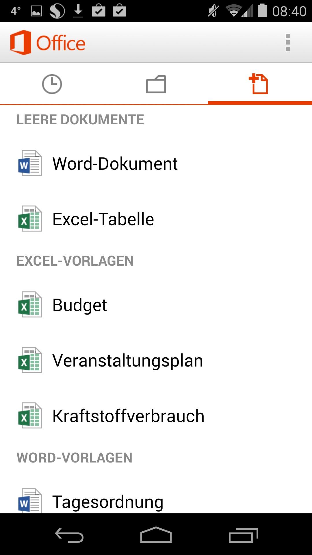 Microsoft Office für Android: Ab sofort kostenlos für Privatanwender ...