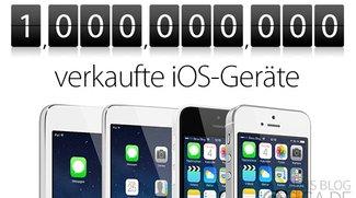 1 Milliarde verkaufte iOS-Geräte