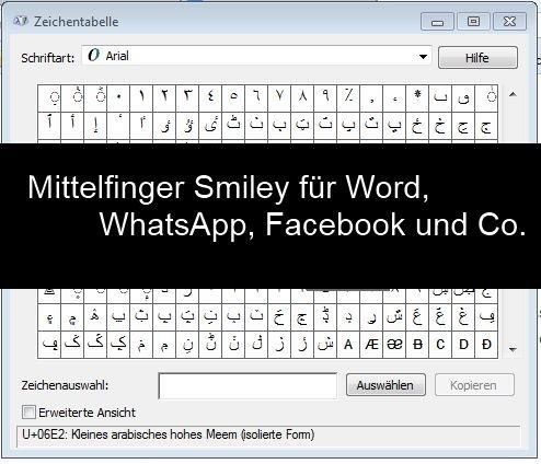 Mittelfinger Smiley Mit Tastatur Auf Iphone Whatsapp Und Bei
