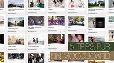 5 Tipps wie man ein Moodboard erstellt