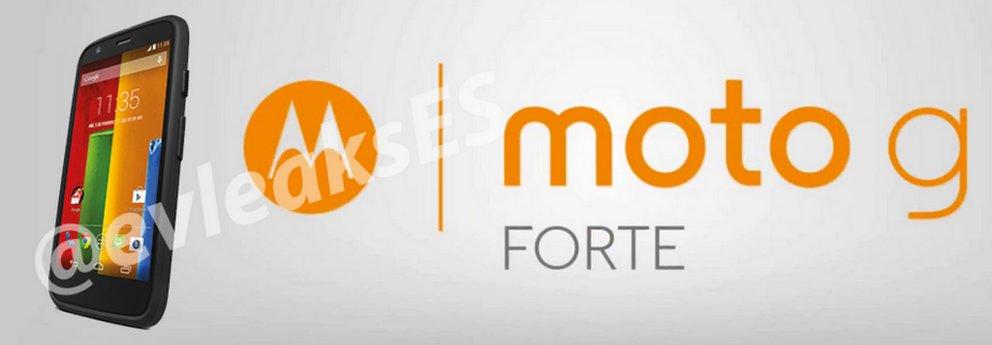 Moto G Forte: Leak zeigt robuste Outdoor-Variante von Motorolas Preiskracher im Bild [Update]