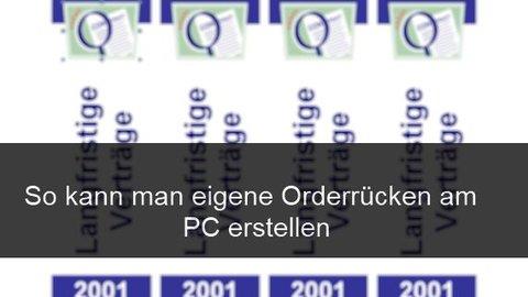 Office Im Buroalltag Ordner Ordnerrucken 1