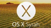 So ähnlich könnte OS X 10.10 Syrah aussehen [Galerie]