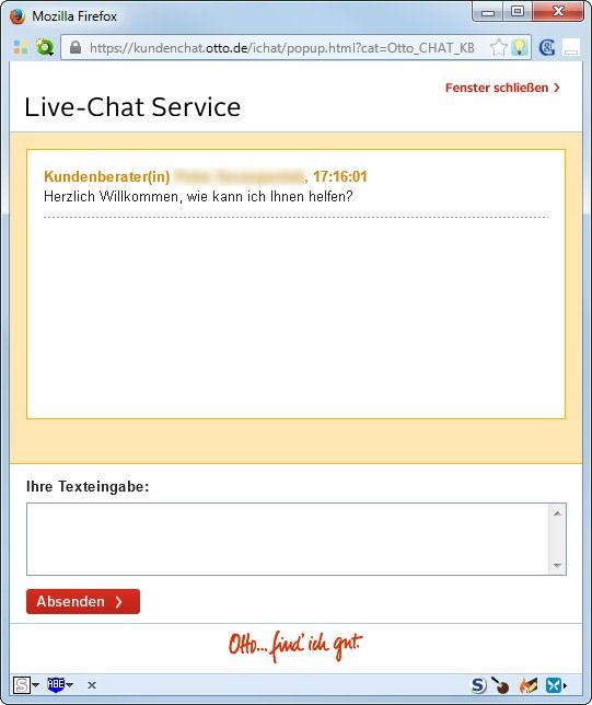 Otto kundenservice telefonnummer