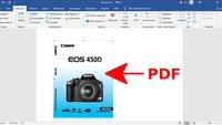 PDF in Word einfügen – so funktioniert's