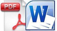 PDF in Word umwandeln und öffnen - online oder mit Freeware