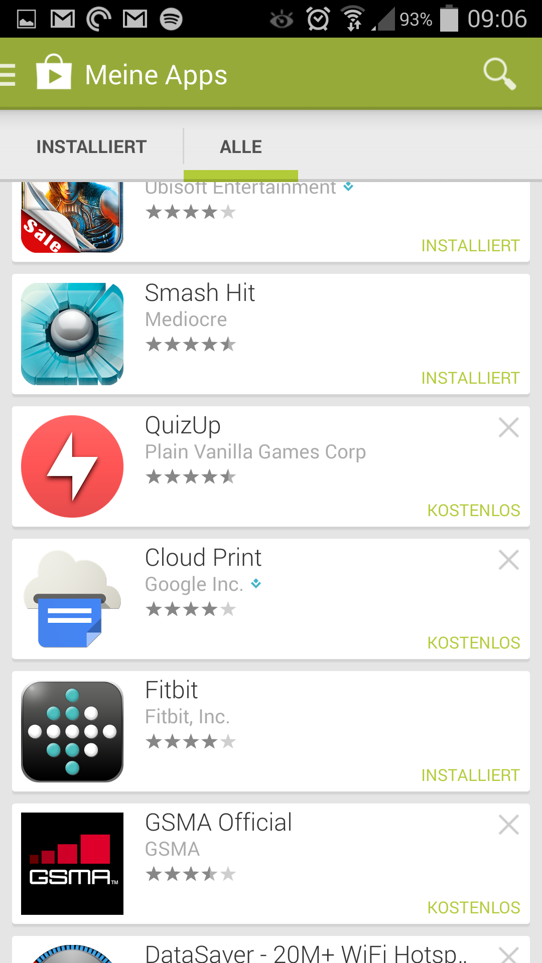 google play iphone installieren