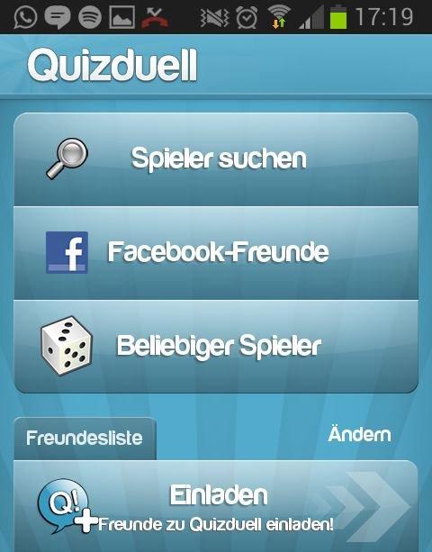so kann man quizduell mit facebook verbinden – giga, Einladung