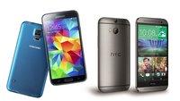 Samsung Galaxy S5, HTC One (M8): Geräte im Neuvertrag mit sehr günstiger Allnet-Flat im Telekom-Netz [Deal]