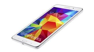 Pressebilder des Galaxy Tab 4 7.0 geleakt