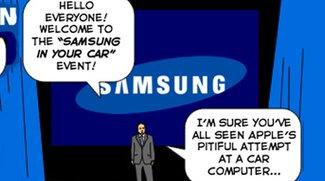 Samsungs Antwort auf Apples CarPlay [Bild des Tages]