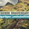 Die Legende Bravehearts in einzigartigen Landschaftfotos