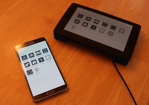 Soap Touch: Android-basierter WLAN-Router mit Touch-Display und smarten Funktionen