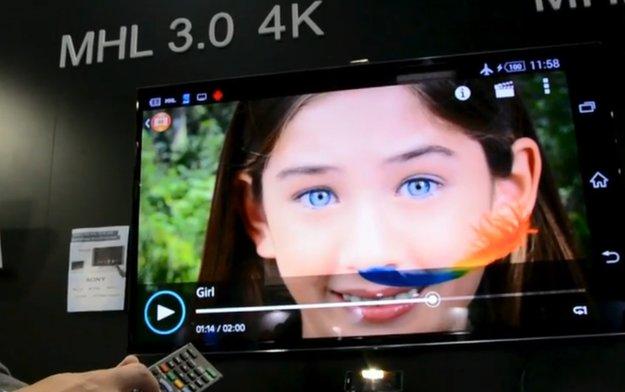 Sony Xperia Z2 & Xperia Z2 Tablet: 4K-Bildschirmausgabe per MHL 3.0 mit gleichzeitigem Laden & USB-Nutzung