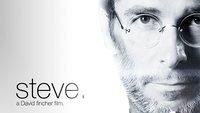 Dieses Film-Poster zeigt Christian Bale als Steve Jobs