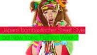 Japans bombastischer Street Style bei der New York Fashion Week?