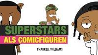 """Superstars als Comicfiguren in """"CARTOON X POP"""""""