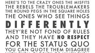 """Wieder verfügbar: """"Think Different""""-Poster"""