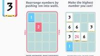 Threes!: Knobel-Hit vom iPhone jetzt auch für Android verfügbar