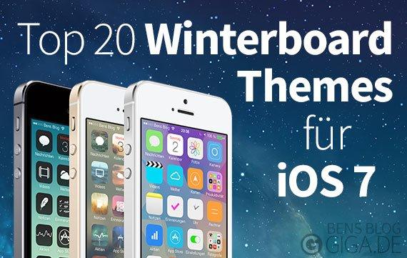 Top 20 Winterboard Themes für iOS 7 in Cydia