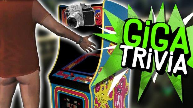 GIGA Trivia #40: Hose runter vor dem Arcade-Automaten?