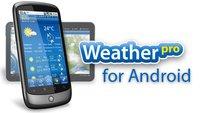 WeatherPro: Eine der besten Wetter-Apps für Android