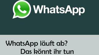 WhatsApp läuft heute ab: Vorsicht vor Abo-Falle und so sollte man handeln