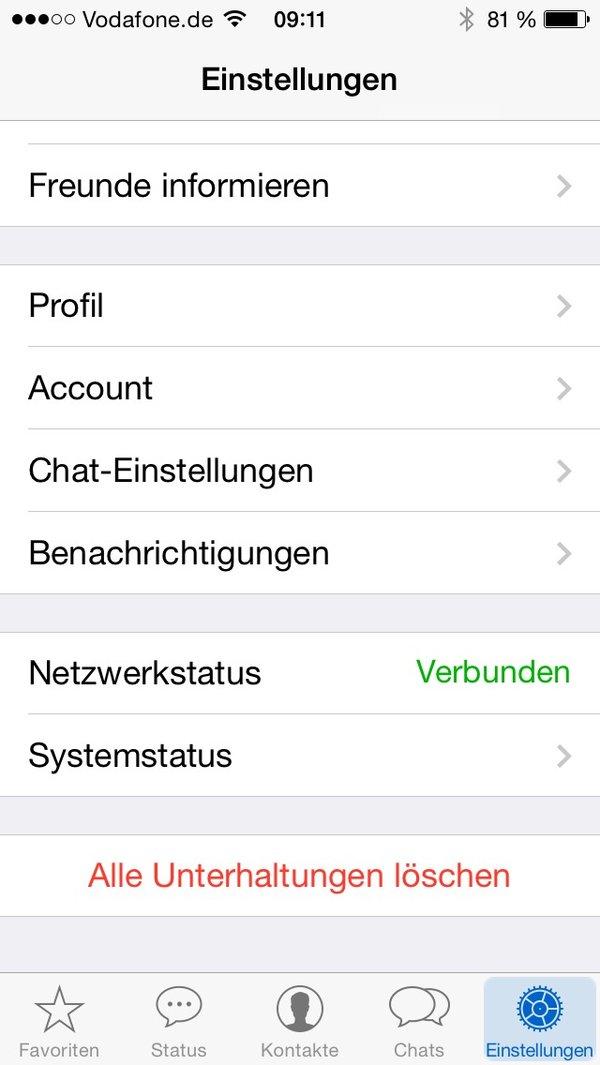 Bei Whatsapp Online Verbergen Whatsapp Zuletzt Online