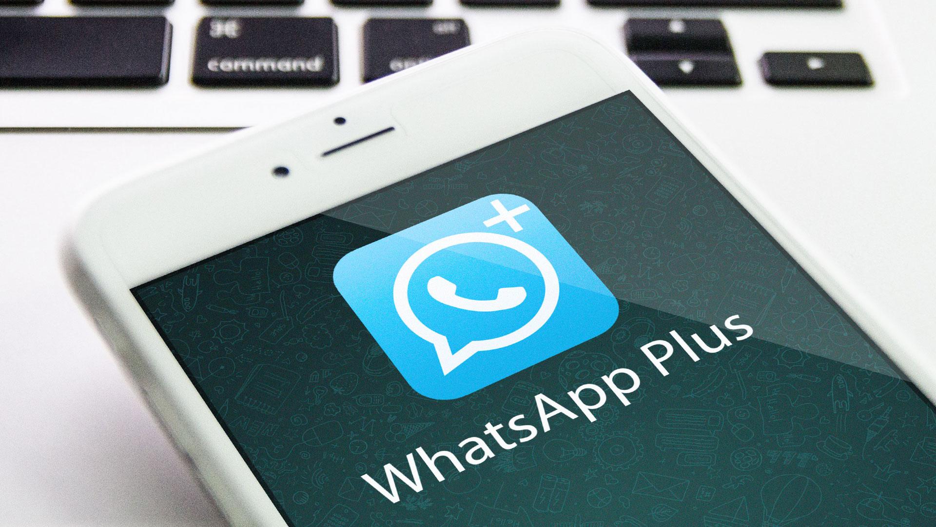 Nur ein haken bei whatsapp plus