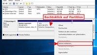 Windows 10: Festplatte partitionieren – so geht's