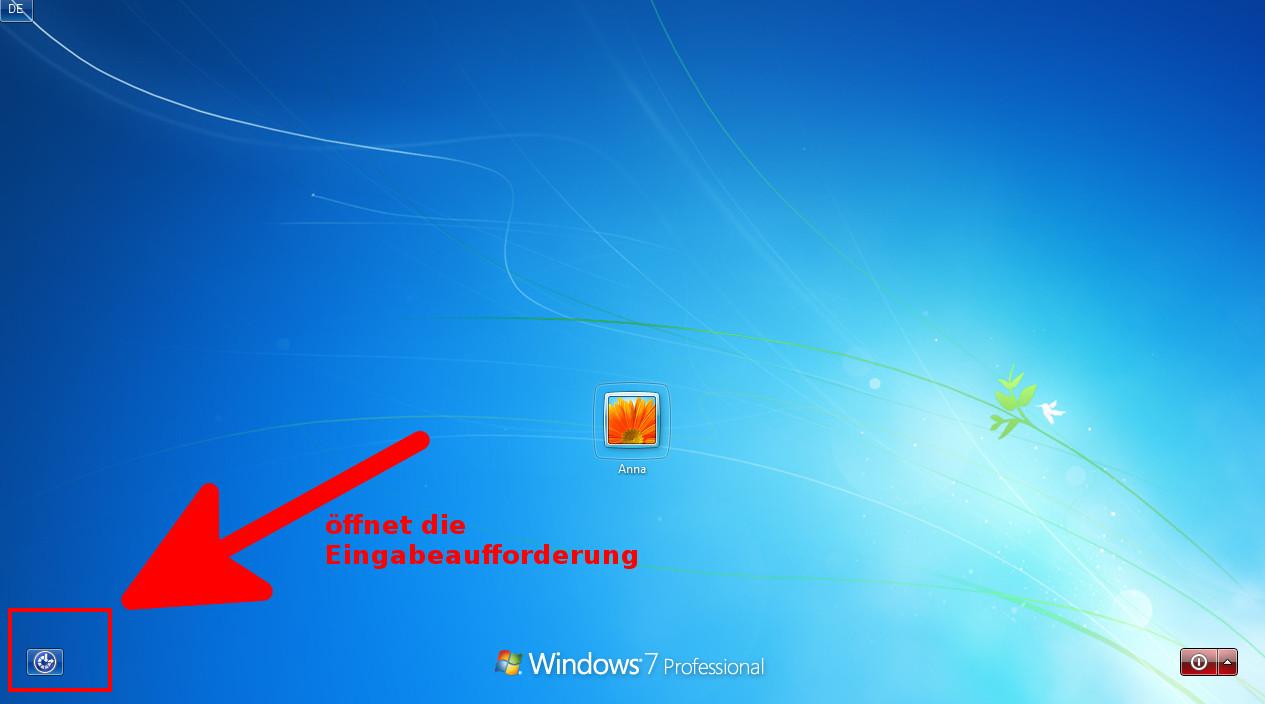windows 7 ohne anmeldung starten