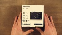 Panasonic LUMIX DMC-TZ61 UNBOXING