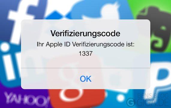 Zwei-Faktor-Authentifizierung bei Apple, Facebook, Google aktivieren - so geht's