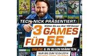 3 Games für 55 Euro bei Saturn (Auswahl an über 100 Spielen)
