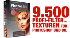 9.500 Profi-Filter und Texturen für Photoshop und Co.