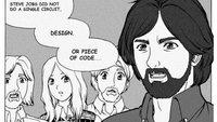 In Harvard wird Apples Geschichte als Comic erzählt