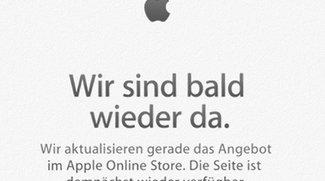 Apple Store derzeit nicht erreichbar (Update)