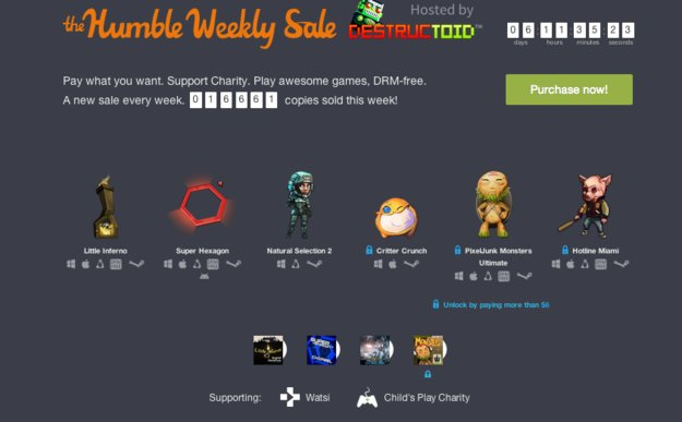 Humble Weekly Sale: Hotline Miami, Natural Selection 2 und mehr