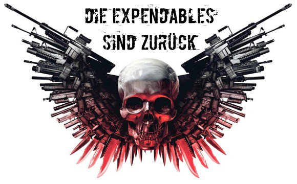 Charakterposter zu The Expendables 3 mit Sylvester Stallone