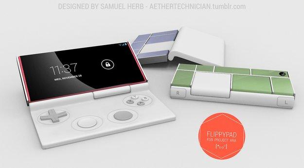 Project Ara: Interessantes Konzept zeigt Handheld-Konsolen-Modul