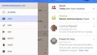 Gmail für Android: Geleakte Screenshots zeigen radikal geändertes Design, neue Features