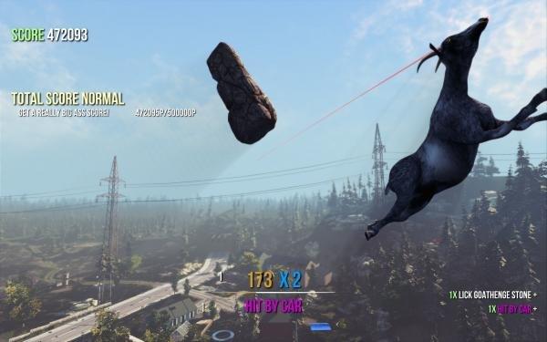 Goat Simulator: Update 1.1 bringt Map, Multiplayer und Ziegen